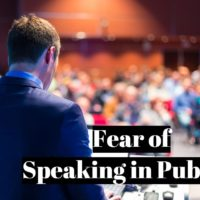 How to overcome your fear of speaking in public?