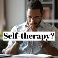 How to do self therapy alone?