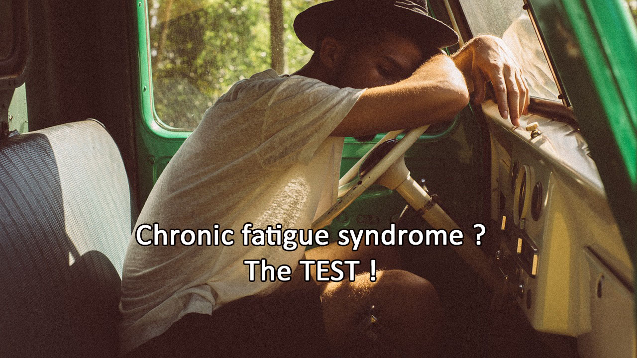How to get rid of chronic fatigue syndrome (TEST)?
