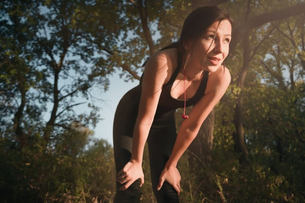 Run out of breath too quickly when running