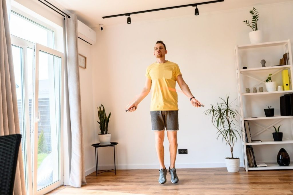 Work on your cardio at home